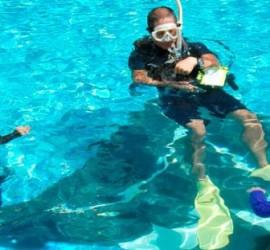 Pool dive course