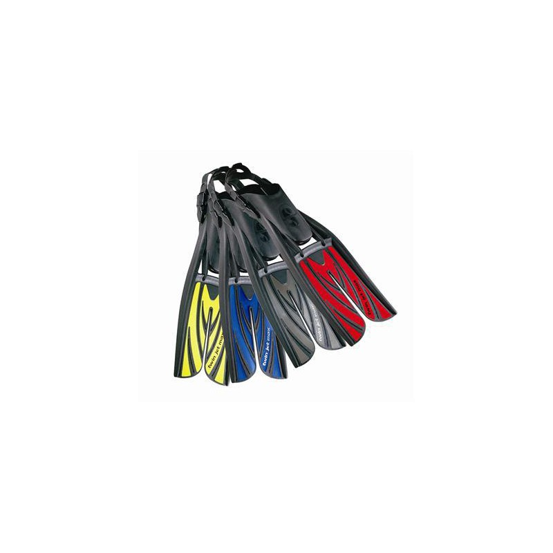 Multiple color options of Scuba Pro Twin Jet Max fins
